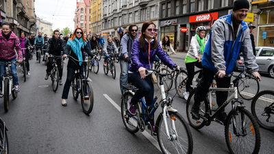 Riteņbraucēju skaits Rīgā pieaudzis par 40%