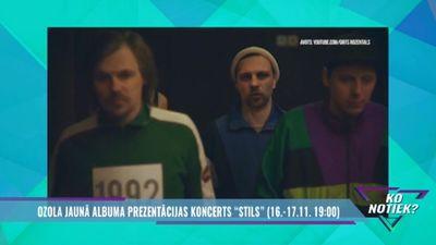"""Šovakar - Ozola jaunā albuma prezentācijas koncerts """"Stils"""""""