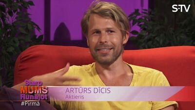 Artūrs Dīcis par savu karjeru: pārāk daudz strādāju