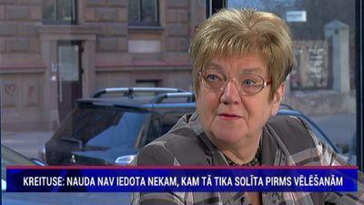 Kreituse: Latvijā nav pēctecības problēmu risināšanā