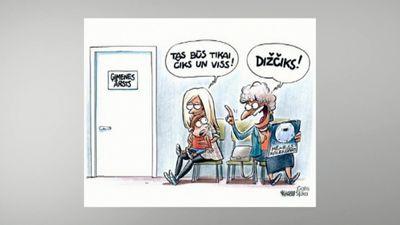 Karikatūru apskats: Čiks un viss!