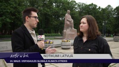 24. maijs - Vispasaules globālā klimata streiks