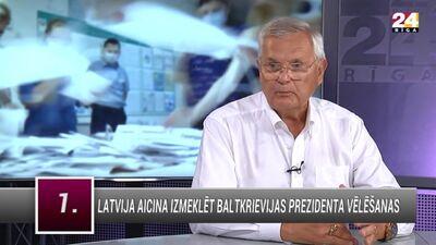 Jānis Jurkāns: politiski Lukašenko der gan Krievijai, gan Rietumiem