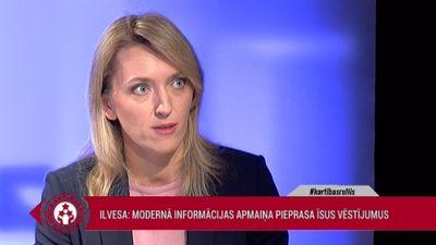 Ilvesa: Modernā informācijas apmaiņa arī politikā pieprasa īsus vēstījumus