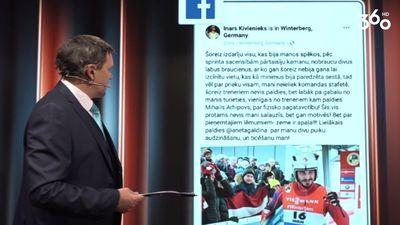 Aiva Aparjode: Inārs Kivlenieks savu braucienu vienkārši NOJĀJA!