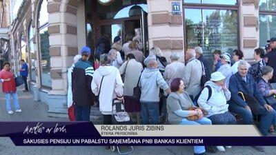 Sākusies pensiju un pabalstu saņemšana PNB bankas klientiem