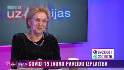 Infektoloģe Ludmila Vīksna stāsta par sajūtām pēc saņemtām divām pret Covid-19 vakcīnas devām