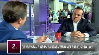Bergmanis par PNB banku: Neticu, ka ir miljardieris, kas izglābs banku