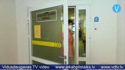 Aicina sniegt atbalstu Jēkabpils mediķiem