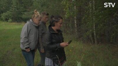 Ērkšķu dāmām jauns izaicinājums - jādodas mežā ar komposu