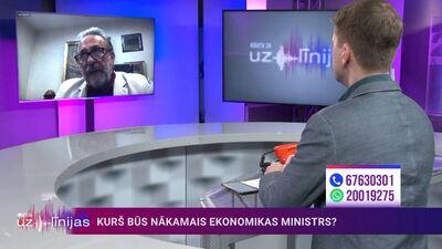 Pēteris Šmidre par savu kandidatūru ekonomikas ministra amatam