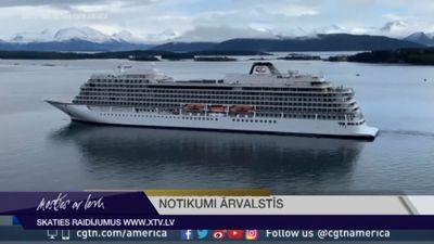 """Noskaidrots kruīza kuģa """"Viking Sky"""" avārijas iemesls"""
