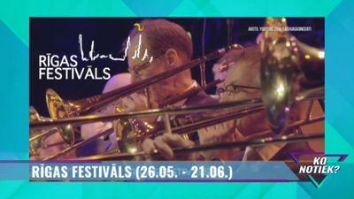 """""""Rīgas festivāls"""" - ikgadējais muzikālais pasākums"""