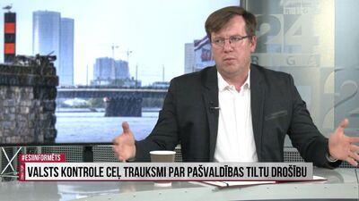 Kossovičs: Autosatiksme Rīgas centrā jāsamazina par 30-40%