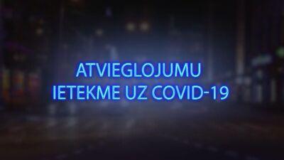 Tvitersāga: Atvieglojumu ietekme uz Covid-19