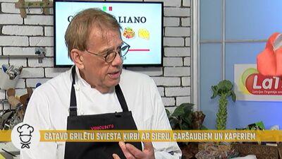 """""""Mizojot sīpolu, var redzēt - būs pavārs vai ne!"""" Mārtiņš Rītiņš stāsta, kā pārbauda jaunos pavārus"""