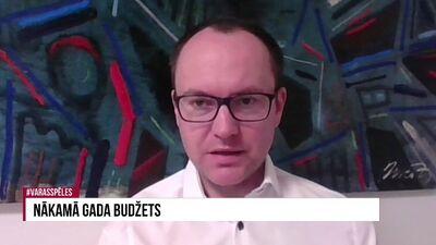 Andris Skride komentē nākamā gada budžetu, kas paredzēts veselības nozarei