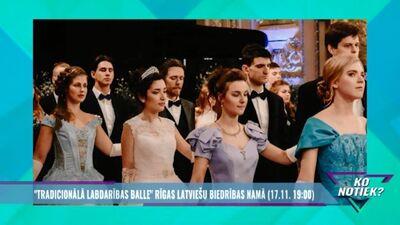 """""""Tradicionālā labdarības balle"""" Rīgas Latviešu biedrības namā"""