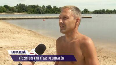 Rīdzinieki par Rīgas pludmalēm
