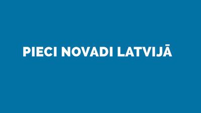 5 novadi Latvijā