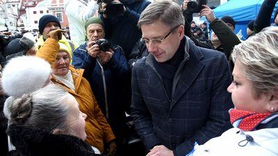 """""""Saskaņas"""" deputāte: Ušakova mītiņam nebija saistība ar etnisku uzbrukumu"""