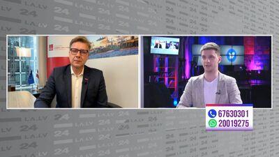Nils Ušakovs par 9.maiju: Viss izskatījās kā tīrākā veida politika