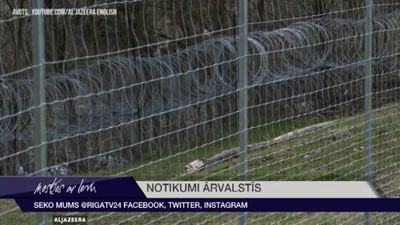 Slovēnija plāno pagarināt žogu uz robežas ar Horvātiju
