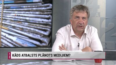 Andrejs Ēķis par atbalstu medijiem