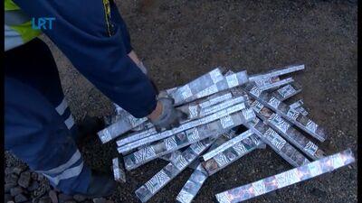 Cigarešu kontrabandu biežāk ved pa sauszemes ceļiem
