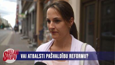 Vai atbalsti pašvaldību reformu?