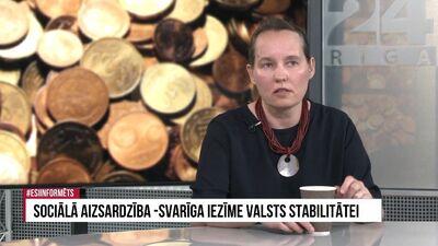 Sanita Upleja-Jegermane par ieviestajām nodokļu izmaiņām