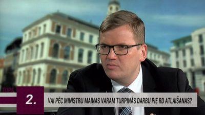 Pūce: Rīgas domes atlaišana nav politisks, bet gan administratīvs lēmums