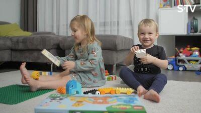 Kā bērnam caur rotaļām iemācīt jaunas lietas?