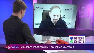 Armands Ruks: Policija cilvēkus par niekiem neaiztiks