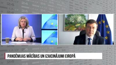 Valdis Dombrovskis par ES stratēģijas maiņu