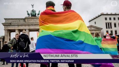 Ar 1. janvāri Austrijā atļautas viendzimuma laulības