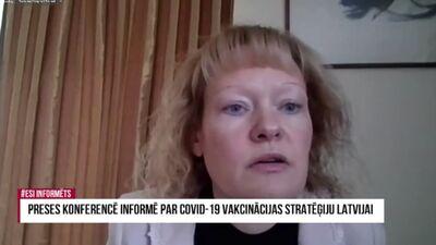 Līviņa: Latvija ņems vakcīnas no tiem ražotājiem, ar kuriem EK noslēgusi līgumus