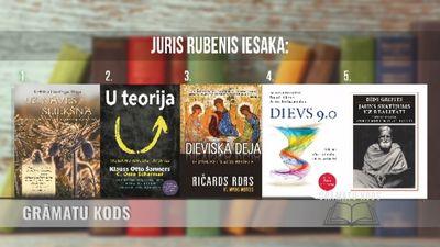 Grāmatas, kuras iesaka izlasīt Juris Rubenis
