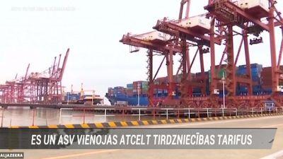 ES un ASV vienojas atcelt tirdzniecības tarifus