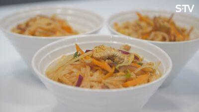 Garšīga Wok recepte visai ģimenei