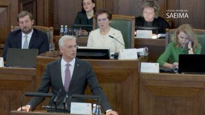 Kariņš: Sadarbība ar Rietumiem ir Latvijas ārpolitikas un neatkarības nodrošināšanas pamats