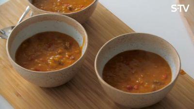 Lēcu zupas recepte