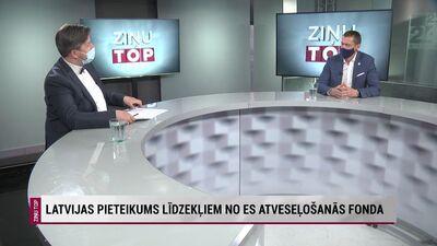 Juris Jurašs par Latvijas pieteikumu līdzekļiem no ES Atveseļošanās fonda