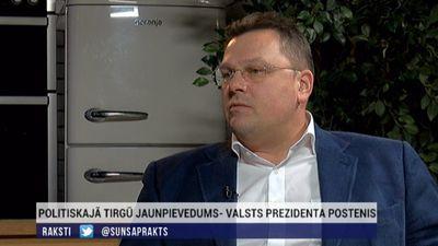 """Rungainis: """"Tauta mīl, politiķi ne visai"""". Prezidentu attīstība Latvijā"""