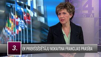Inese Vaidere par EP darbības atgriešanu Strasbūrā