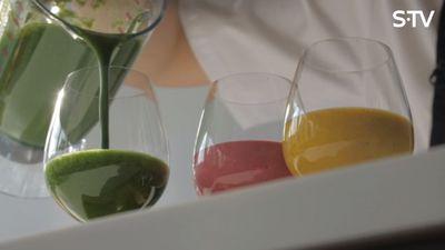 3 veselīgu smūtiju receptes