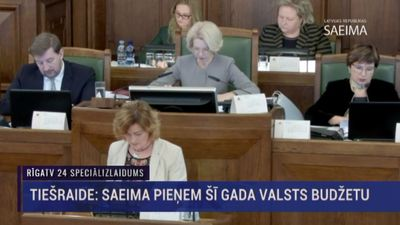 Speciālizlaidums: Saeima lemj par 2019. gada valsts budžetu 1. daļa