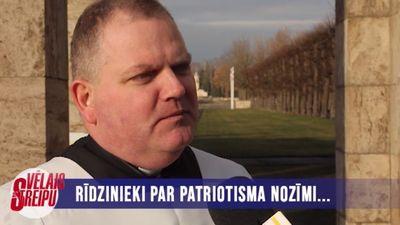 Rīdzinieki par patriotisma nozīmi