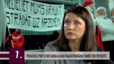 """Vanaga par pedagogu piketu: """"Grafika neapstiprināšanu veicināja ministru nekvalitatīvais darbs!"""""""