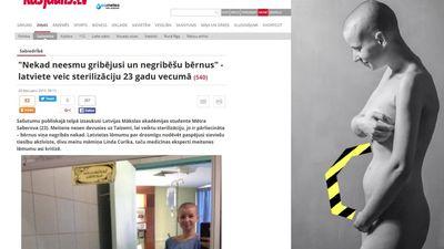 Mētra Saberova - nevēlos būt dzemdēšanas mašīna!